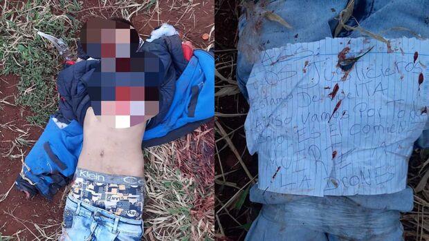 Adolescente é encontrado morto com pele arrancada e mãos decepadas no Paraguai