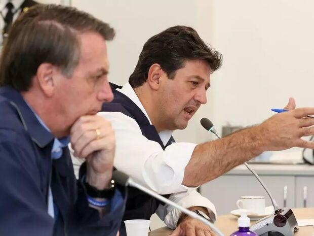 Com apenas 2,6%, Mandetta é 'atropelado' por Bolsonaro em pesquisa