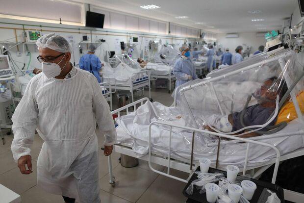 Campo Grande tem 30 pacientes esperando leito de UTI covid, pior situação de MS
