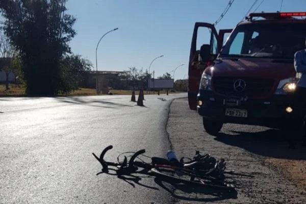 Ciclista atropelado e morto na Chácara das Mansões é reconhecido por sobrinha
