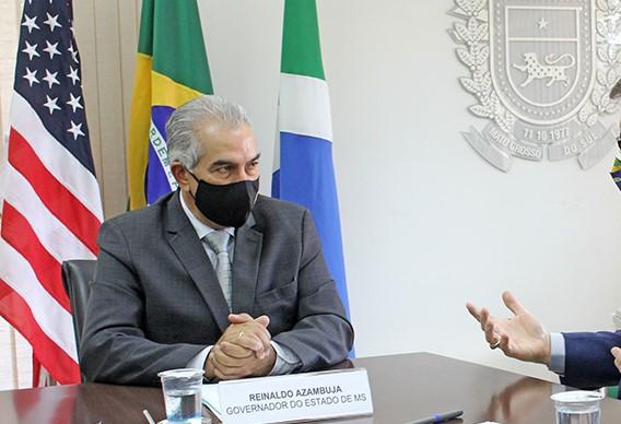 Água será tema principal de reunião de Reinaldo e governo dos EUA