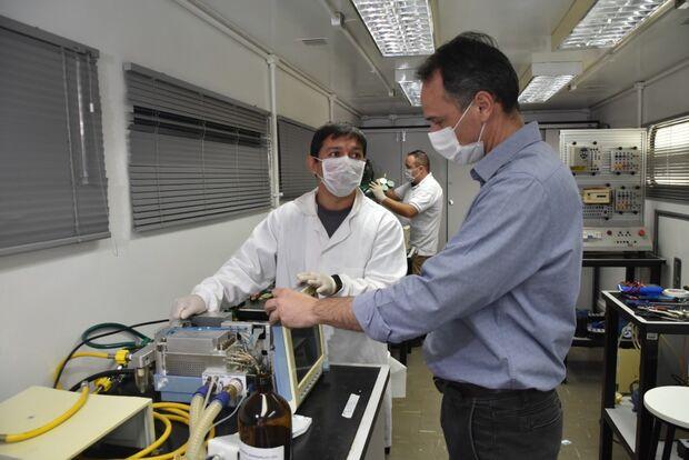 Trabalho 'invisível' no conserto de respiradores salvou centenas de vidas em MS