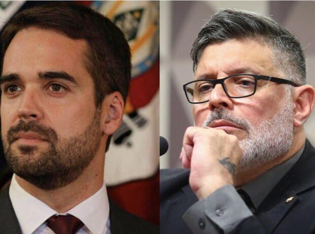 Alexandre Frota debocha de Eduardo Leite ser presidente e recebe invertida gigantesca