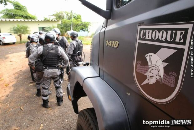 Bandido que participou de roubo de carreta e cárcere em SP é preso pelo Choque em MS
