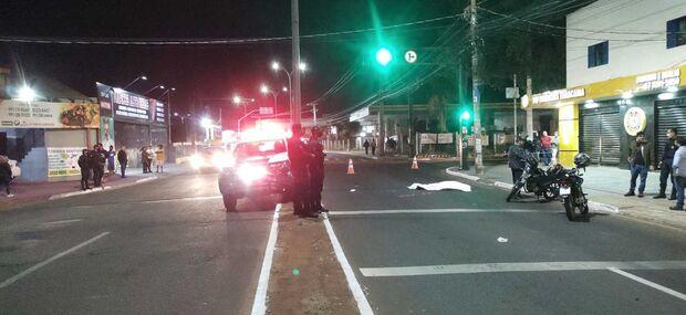 Motociclista morre em batida com outra moto na Yokohama
