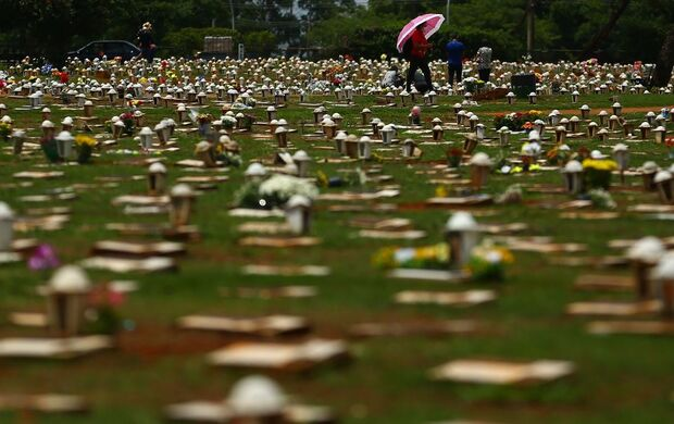 Brasil alcança triste marca de 600 mil mortes pela covid-19