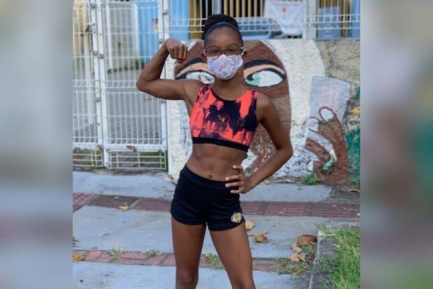 Esporte de Rebeca Andrade brilha em MS e ginasta carioca faz campanha para competir aqui