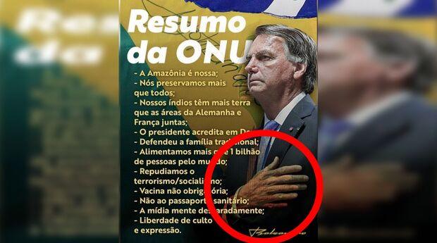 Na Lata: Jair prova ser superior a Lula e mostra 11 dedos