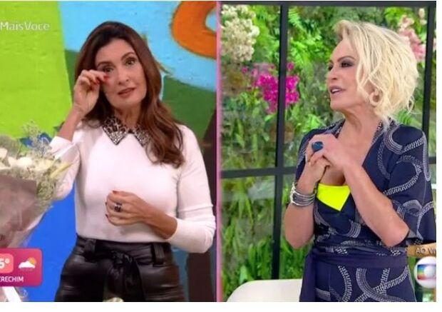 Ana Maria faz Fátima Bernardes chorar ao fazer homenagem