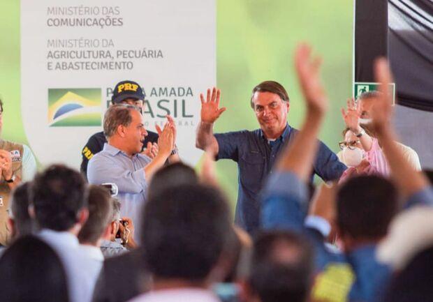 Bolsonaro visita Bonito em outubro, confirma deputado