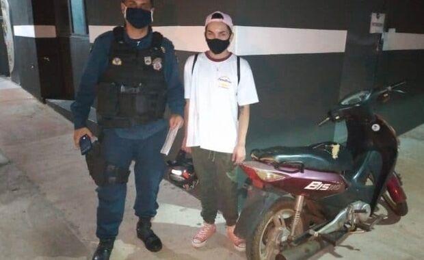 Vergonha: mãe 'cagueta' o próprio filho suspeito de furtar moto em Ponta Porã