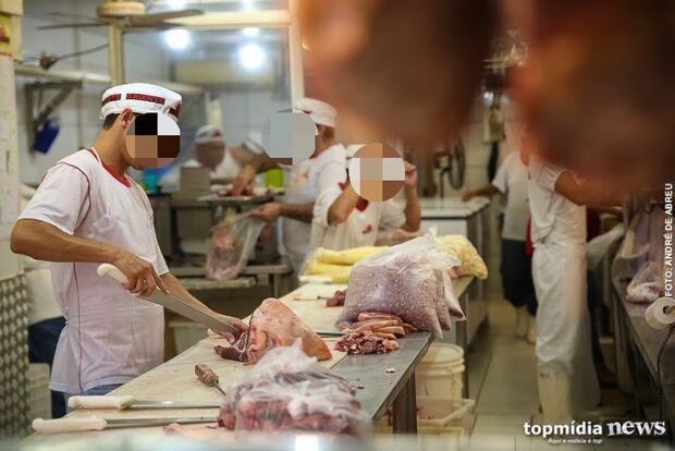 Desempregado é preso furtando carne de mercado em Campo Grande