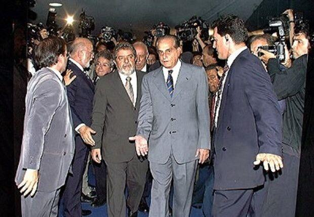 Ramez se reuniu com Lula no primeiro dia do mandato para oferecer dinheiro