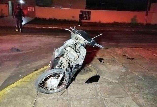 Motociclista morre após ser atropelado por carro em Dourados
