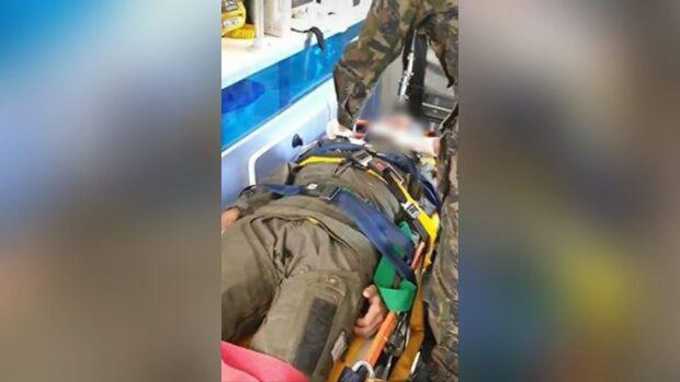 Piloto ejetou antes de aeronave tucano da FAB cair em Campo Grande