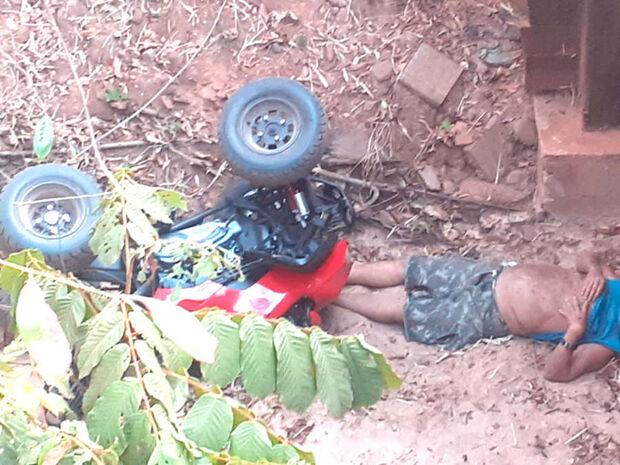 Vídeo: morto em queda de quadriciclo em ponte de Piraputanga era campo-grandense
