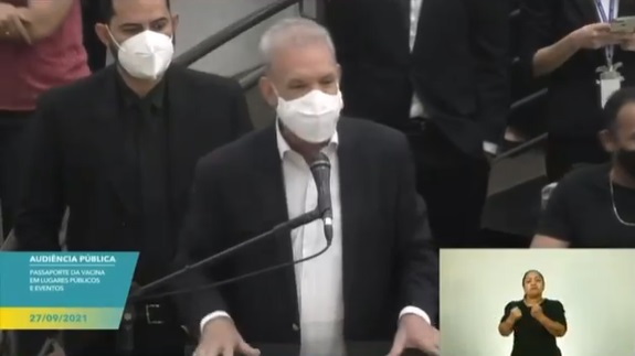 Ayache apoia fala de Geraldo Resende contra bolsonaristas: 'chega de negacionismo'