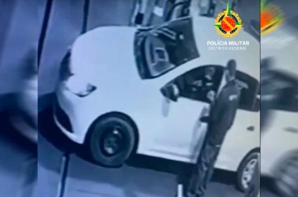 Mulher que roubava postos de combustíveis sem descer do carro é presa