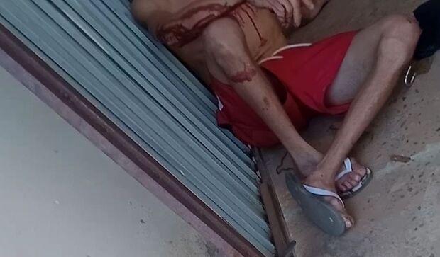 Filho ameaça o próprio pai com faca e ferro no Novos Estados, em Campo Grande