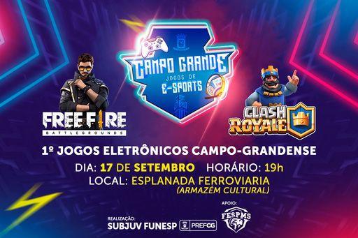 1ª edição dos Jogos Eletrônicos de Campo Grande acontece dia 17