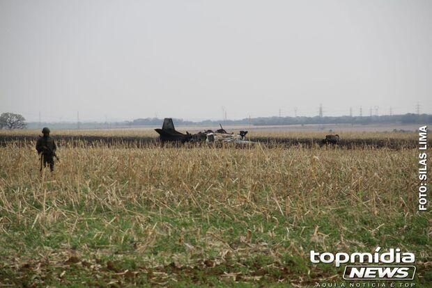 Espaço aéreo de Campo Grande fica fechado após acidente com aeronave
