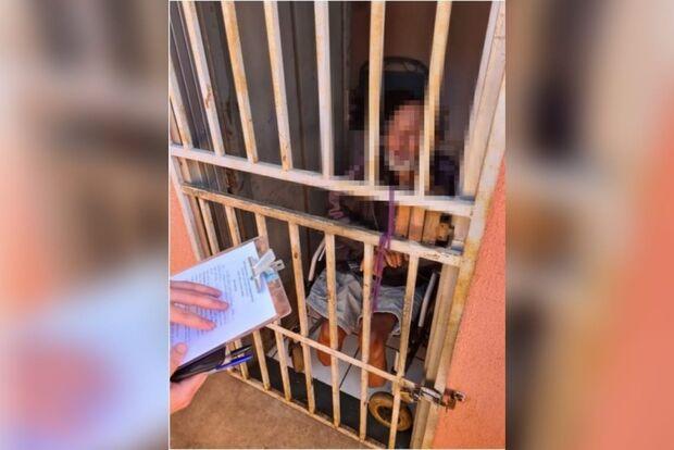Idoso com pernas amputadas é resgatado morando sozinho e passando fome em Campo Grande