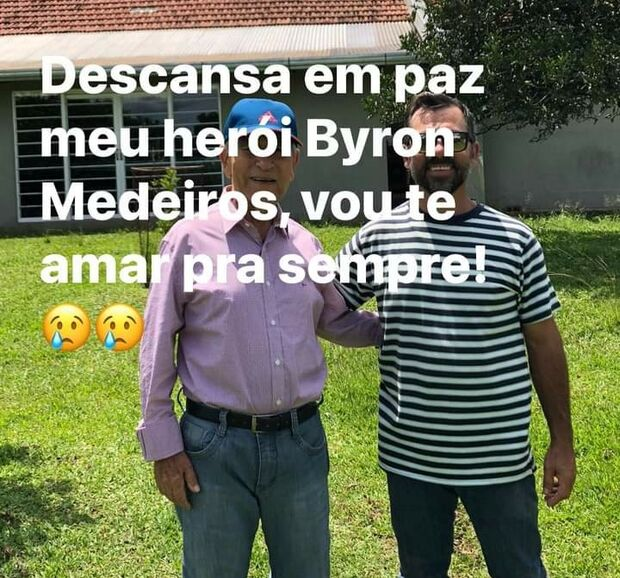Byron Medeiros fundador do sindicato Rural de Ponta Porã morre