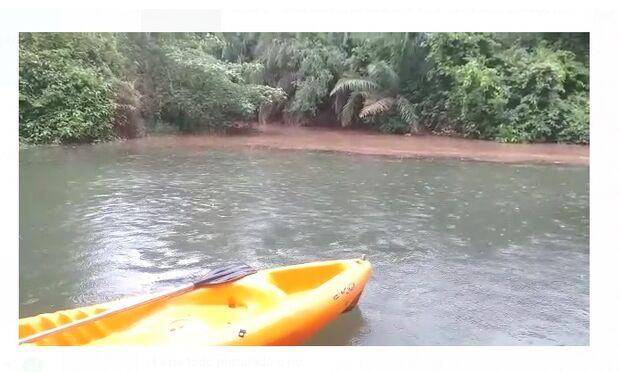 Bonito sofre com rios enlameados após chuvarada (vídeo)