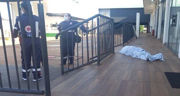 Homem morre em posto de gasolina em Dourados
