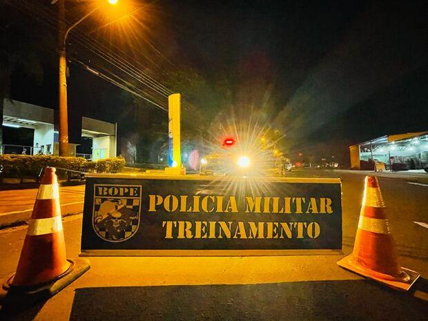 PM faz megassimulação de combate a crimes do 'novo cangaço' em Campo Grande