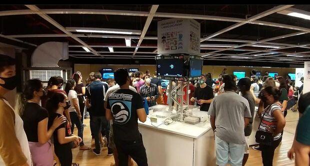 No mês das crianças, shopping de Campo Grande recebe 'museu do videogame'