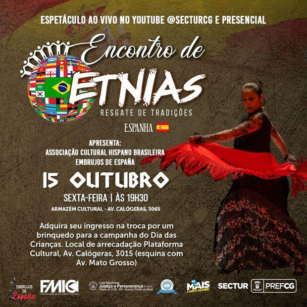 Encontro de Etnias acontece no Armazém Cultural em Campo Grande