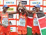 Atletas afirmam que segredo das vitórias quenianas é o treinamento