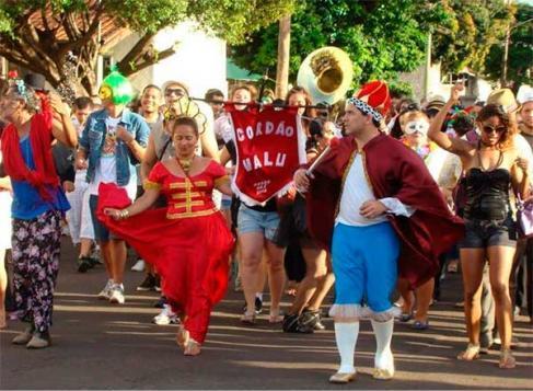 Blocos fazem a festa nos primeiros dias de carnaval