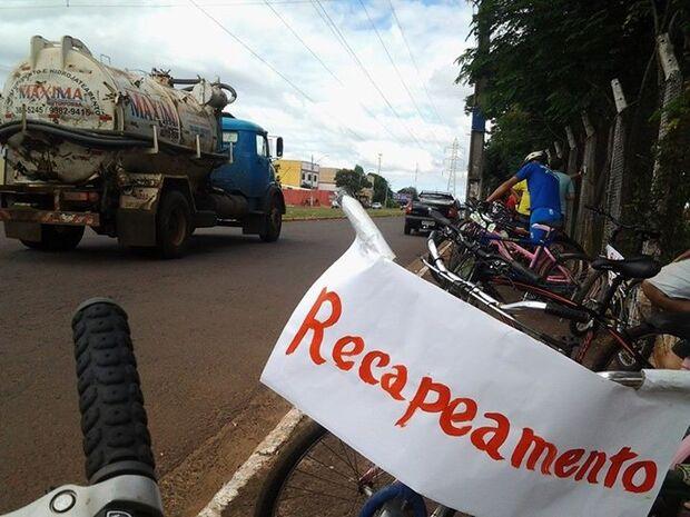 Moradores cobram ciclovia e pista de caminhada no recapeamento da Guaicurus