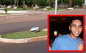 Jovem de 18 anos morre em Ivinhema após colisão em poste