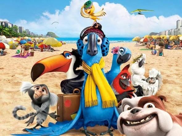 Novo trailer de Rio 2, arara Blue encontra o pai na floresta