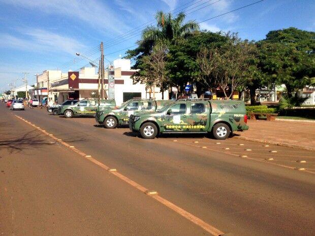 Policiais da Força Nacional já estão em MS e atuam na região de fronteira
