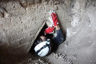 Rede de túneis é descoberta sob obra-prima da arquitetura romana