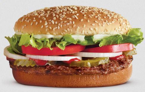 Sanduíche clássico é o carro-chefe do Burger King