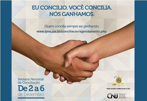 Justiça deve resolver mais de mil casos na Semana da Conciliação em MS
