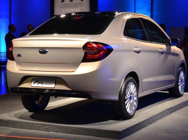 Ford apresenta o novo Ka Sedan; veja o design do compacto