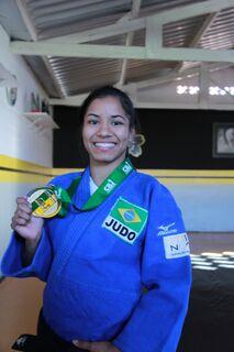 Judoca de Ladário, Larissa Farias é destaque na equipe brasileira Sub-21