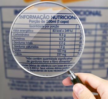 Anvisa determina novas regras para os rótulos de alimentos