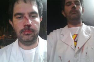 Médico diz ter sido ser agredido por colega de profissão