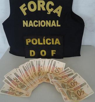 R$ 3.800 em cédulas falsas apreendidas em Ponta Porã
