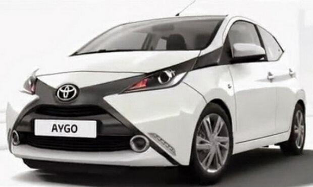 Novo compacto da Toyota, Aygo tem imagens vazadas na internet