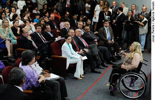 Semana da Valorização das Pessoas com Deficiência começou hoje no Senado