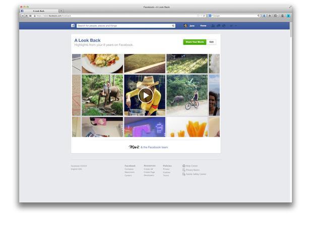 Facebook lança vídeo com compilação de melhores momentos de usuários