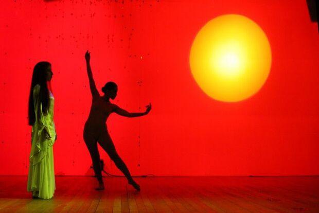 Bailarina declara seu amor pela Dança do Ventre que na vida dela é arte e amor